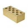 Кирпич М150 силикатный желтый лицевой колотый 250х60х88мм. (ваг. 435шт.) (БСЗ)