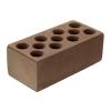 Кирпич М150 силикатный коричневый лицевой колотый 250х60х88мм. (ваг. 460шт.)