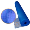 Фасадная сетка 5мм.х5мм (1м*50m) 160 г/м2 синяя